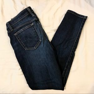 Joe's Jeans Skinny Ankle Dark Wash Jeans